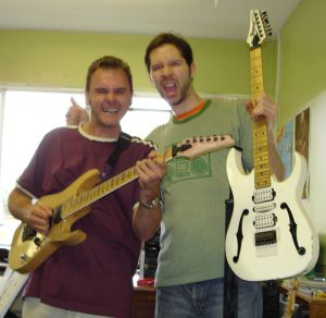 Jimi Savage with Paul Gilbert (Mr Big)