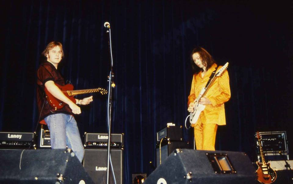 Jamming with Paul Gilbert (Mr Big) 1999