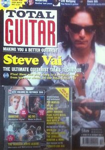 Total Guitar Magazine; Steve Vai