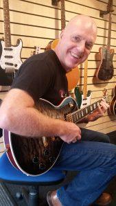Kevin @ Savage Guitar Studio