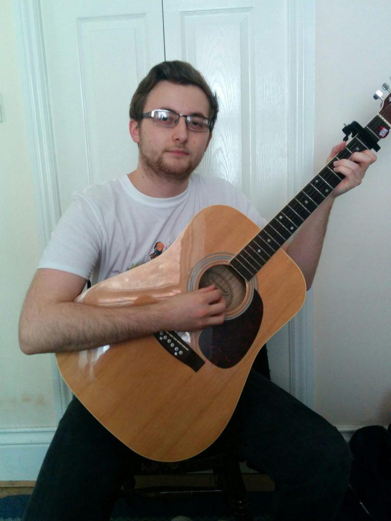 Micheal Hoggart, Student of Savage Guitar Studio